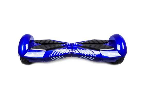 Hoverboard Dunkelblau und Schwarz